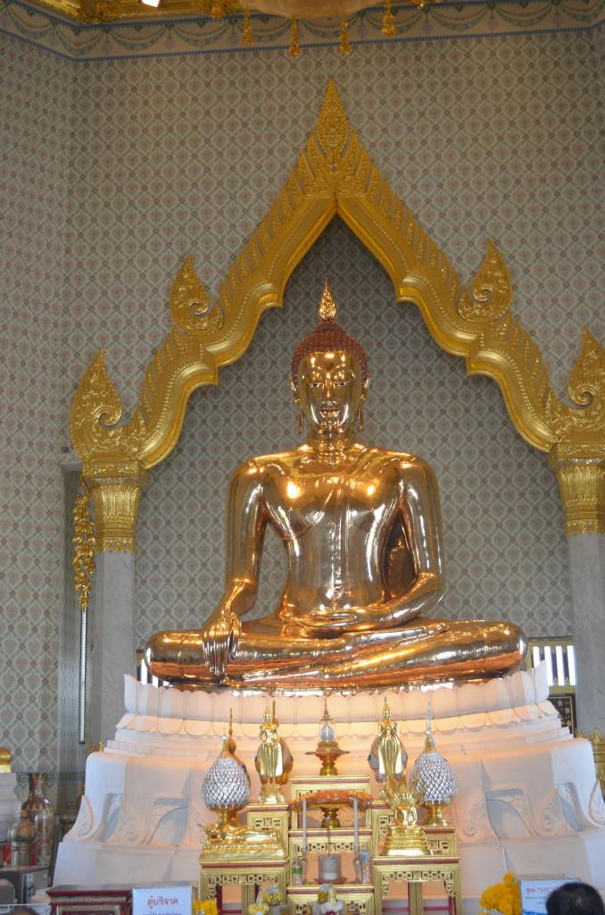 Buda Dourado - Dicas de Bangkok