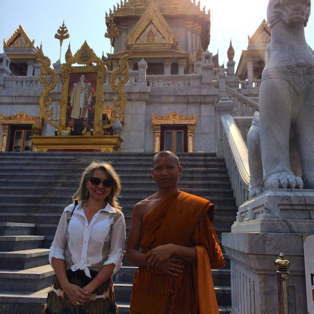 Templo wat traimit-monge2-bangkok - Dicas de Bangkok