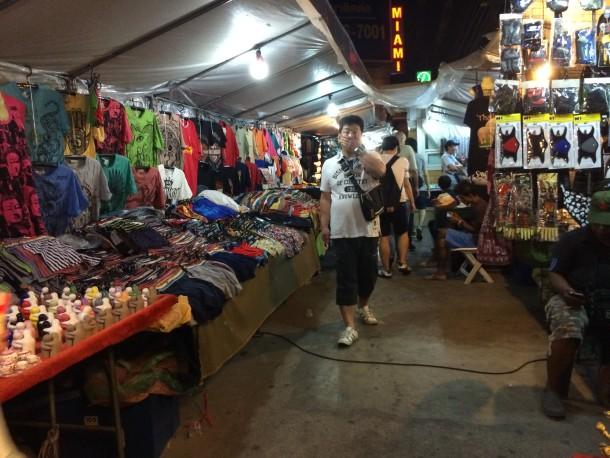 Feirinha no Centro de Bangkok - Dicas de Bangkok