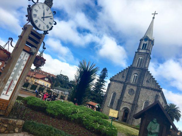 Igreja Matriz São Pedro em Gramado no Rio grande do Sul