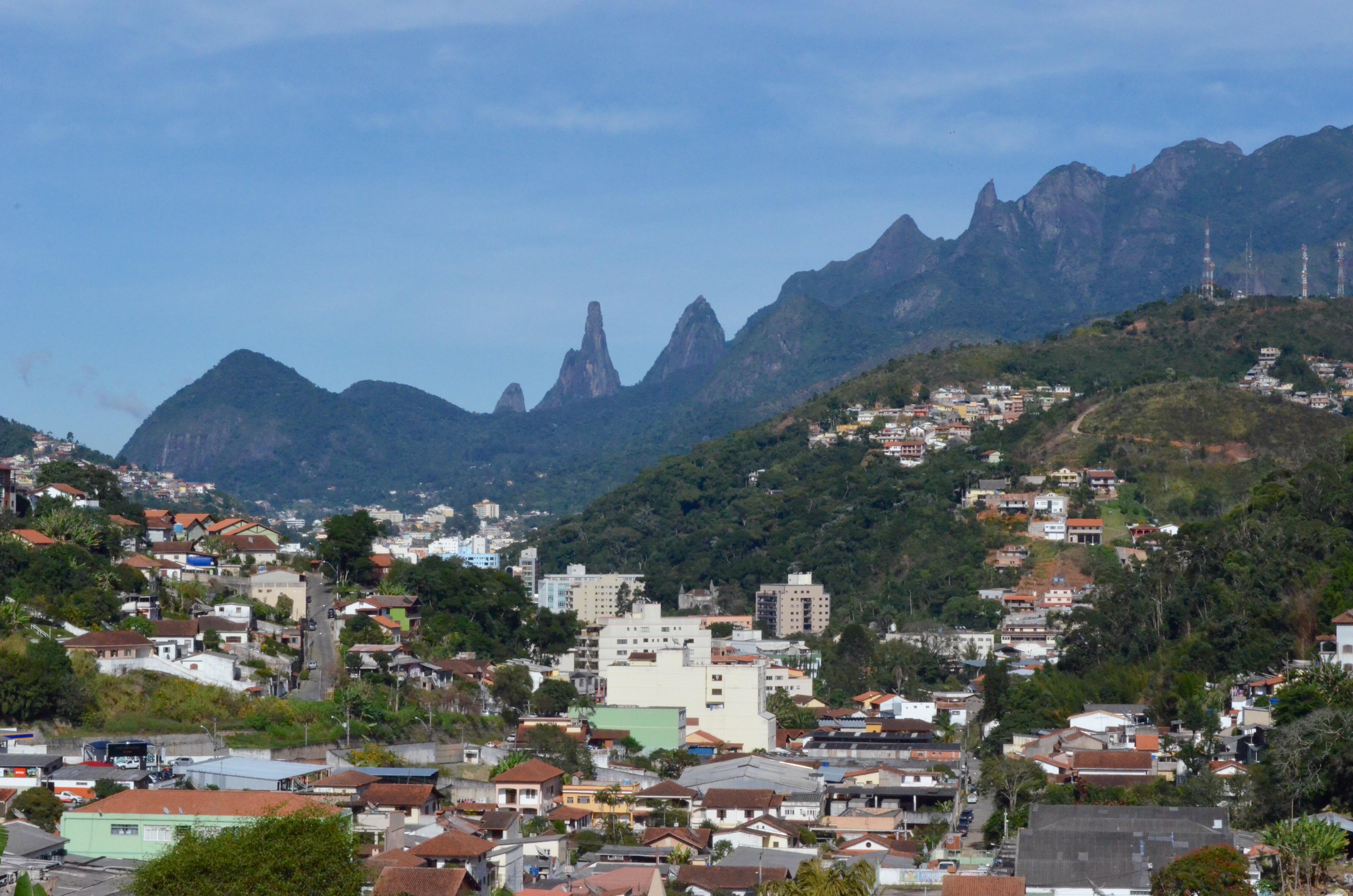 Vista da Cidade de Teresópolis