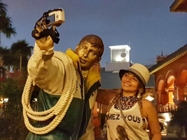 selfie em Key West.