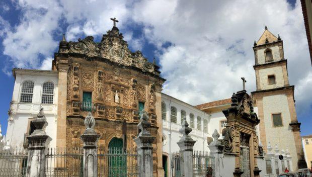 A igreja de Ordem Terceira de São Francisco