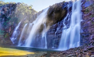 Cachoeira Salto Corumbá - Goiás