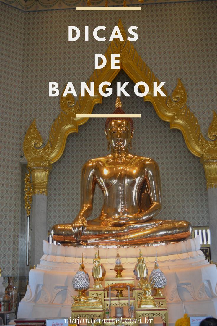 Dicas de Bangkok - pinterest