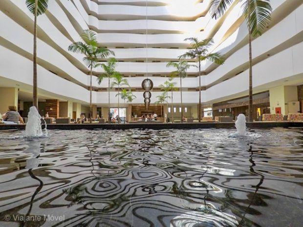 Espelho dagua Le Jardin Hotel