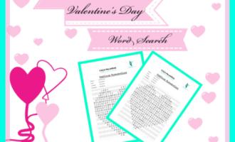 Descobrindo Destinos Românticos no Valentine`s Day com Caça-Palavras